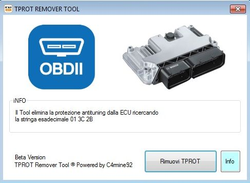 Free TPROT remover